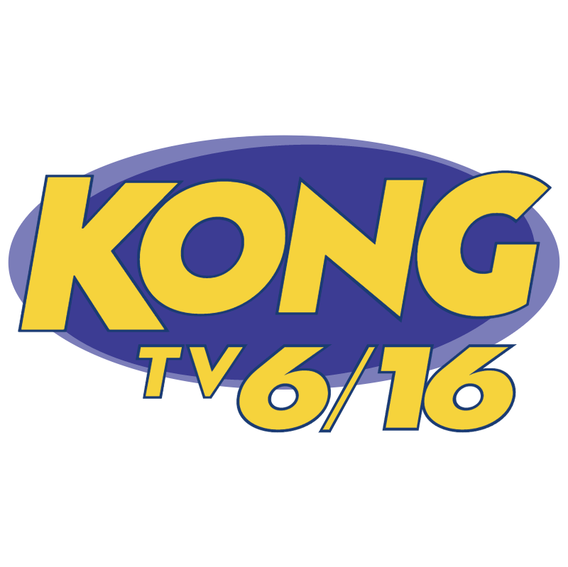 Kong TV 6 16 vector logo