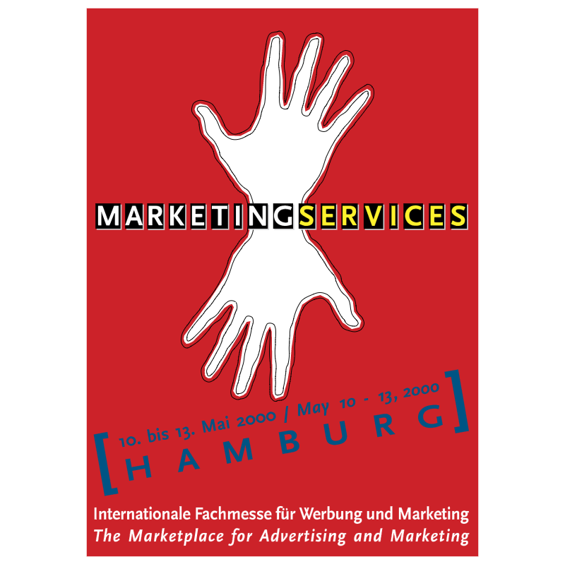 Marketing Services 2000 vector logo