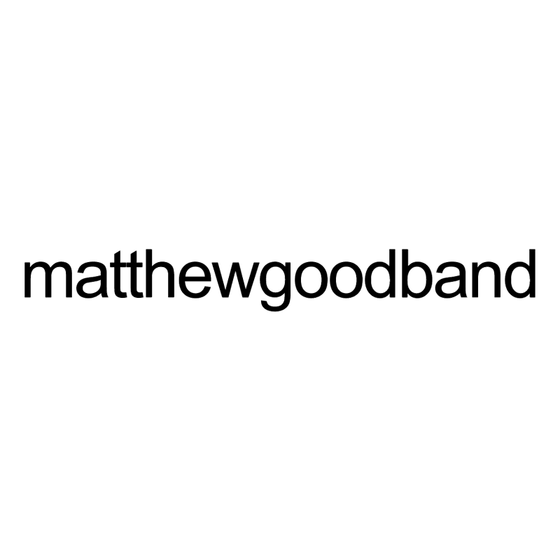 Matthew Good Band vector