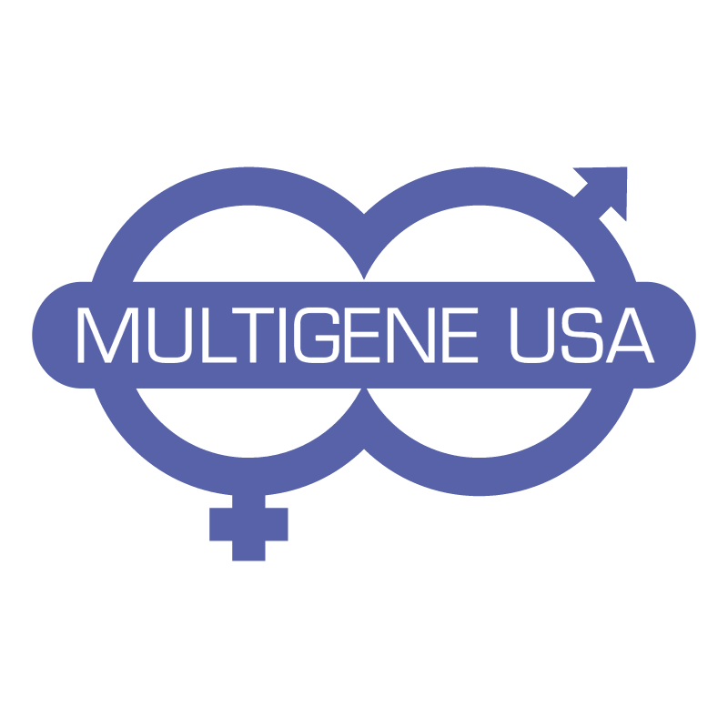 Multigene USA vector logo