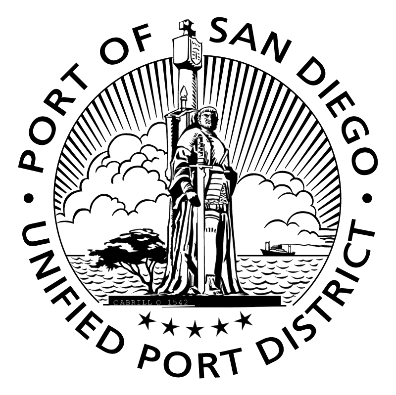 Port of San Diego vector