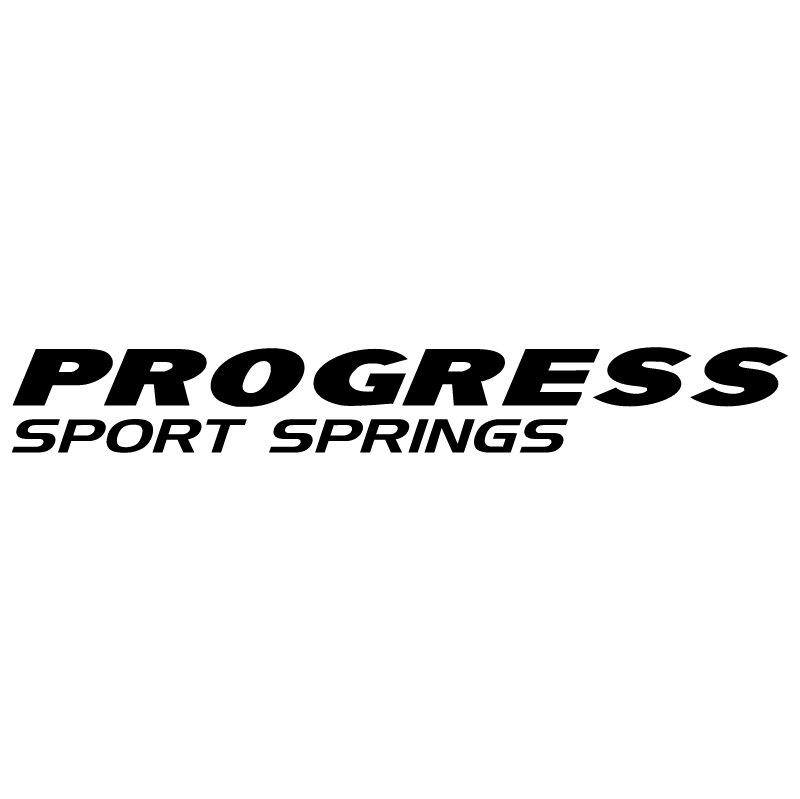 Progress Sport Springs vector