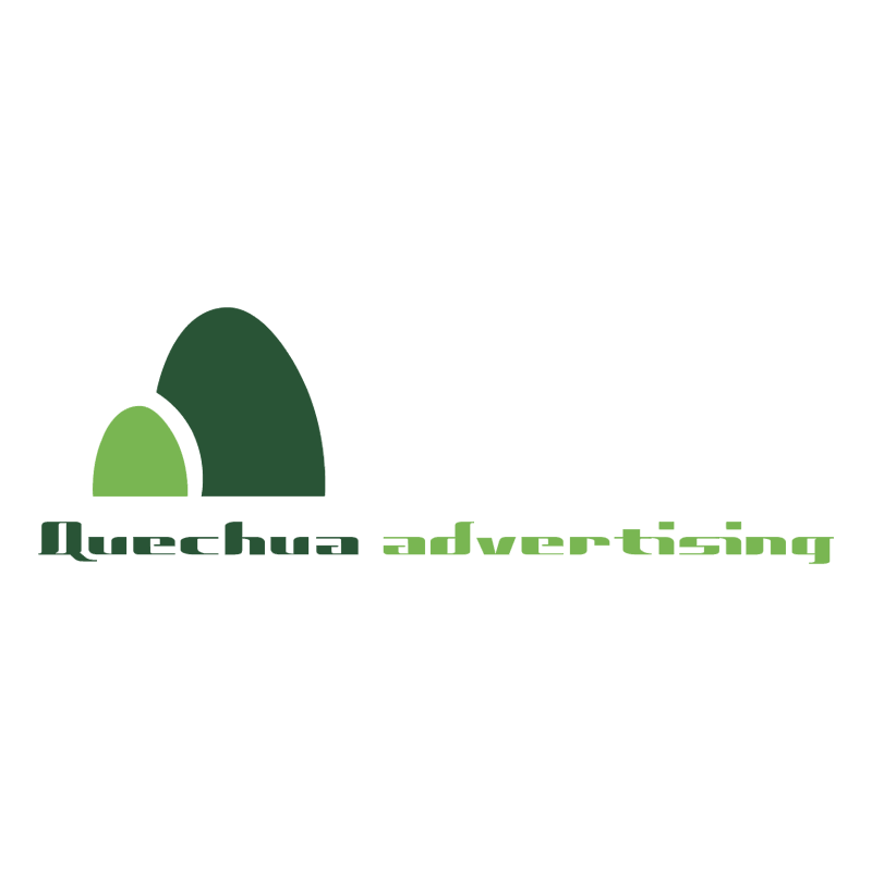 Quechua Advertising vector