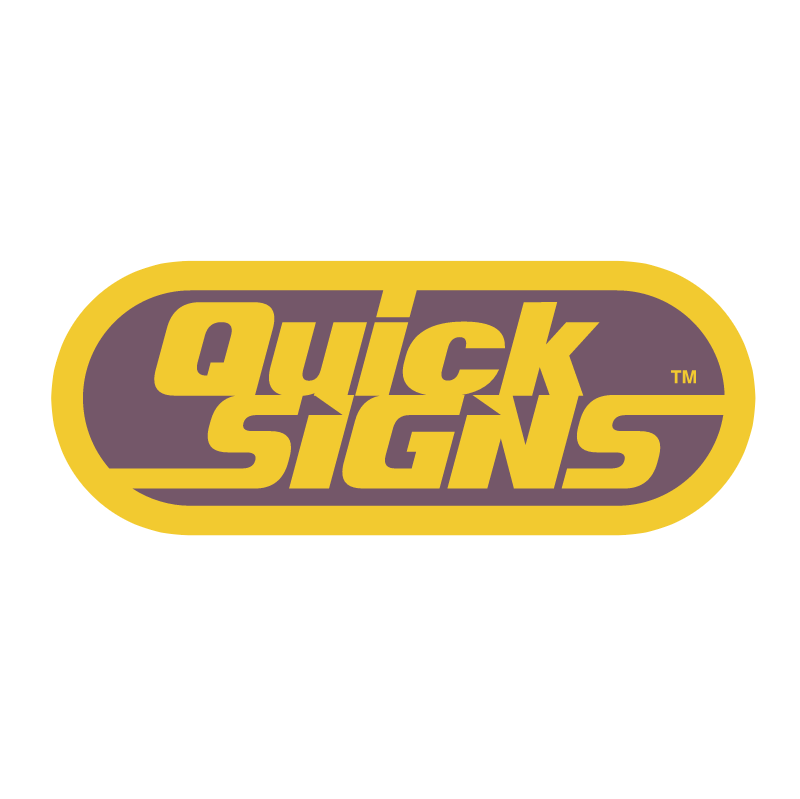 Quick Signs vector