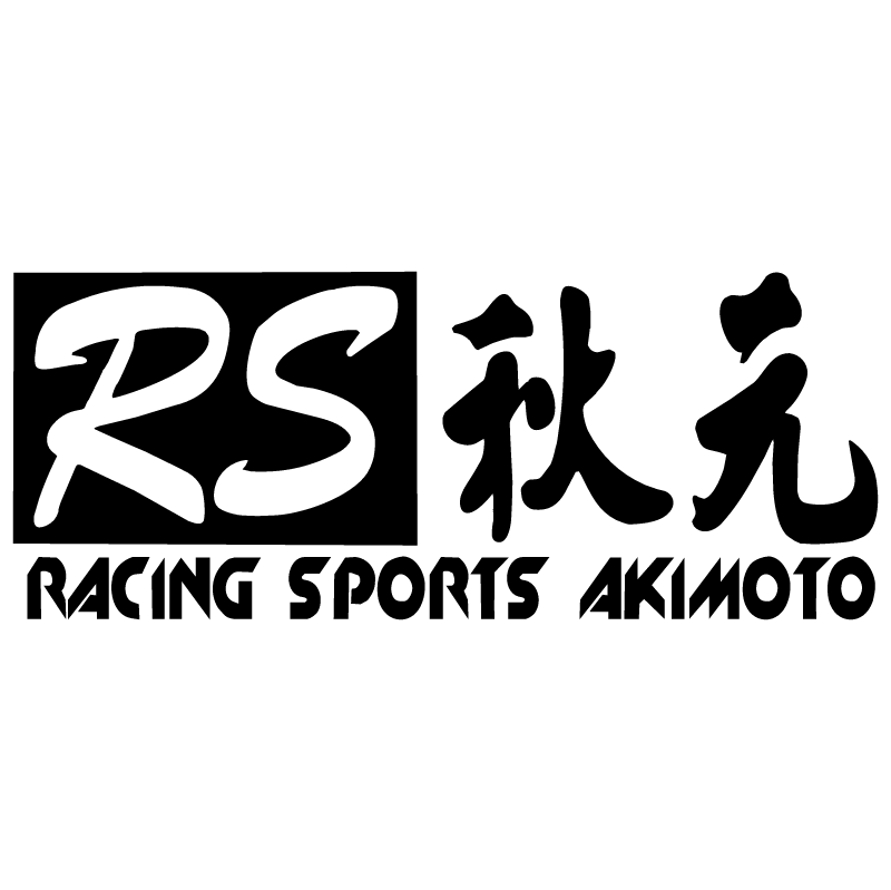 Racing Sports Akimoto vector
