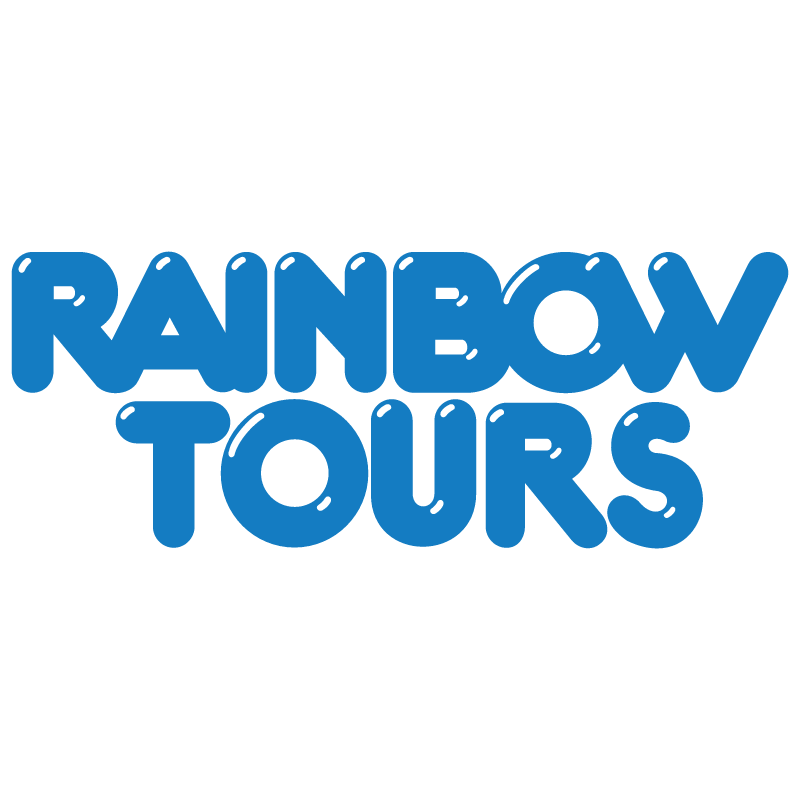 Rainbow Tours vector logo