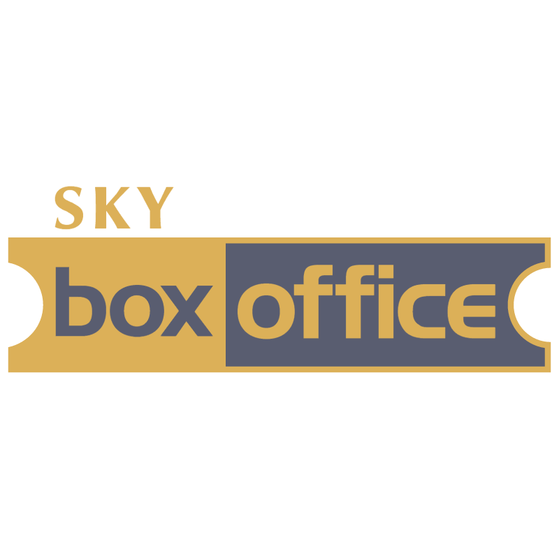 Sky Box Office vector