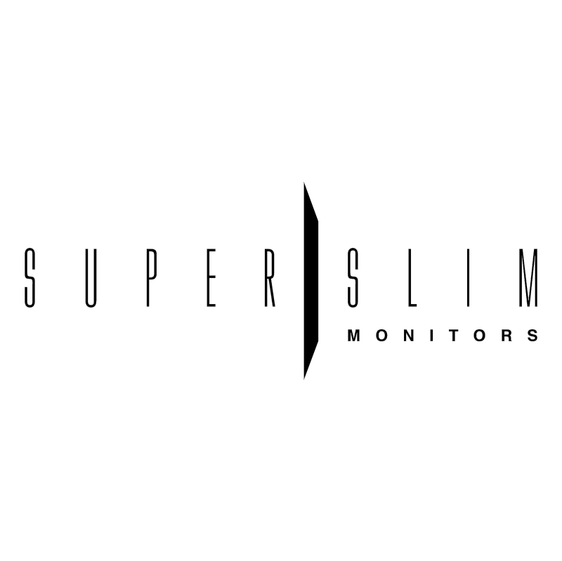 SuperSlim vector logo