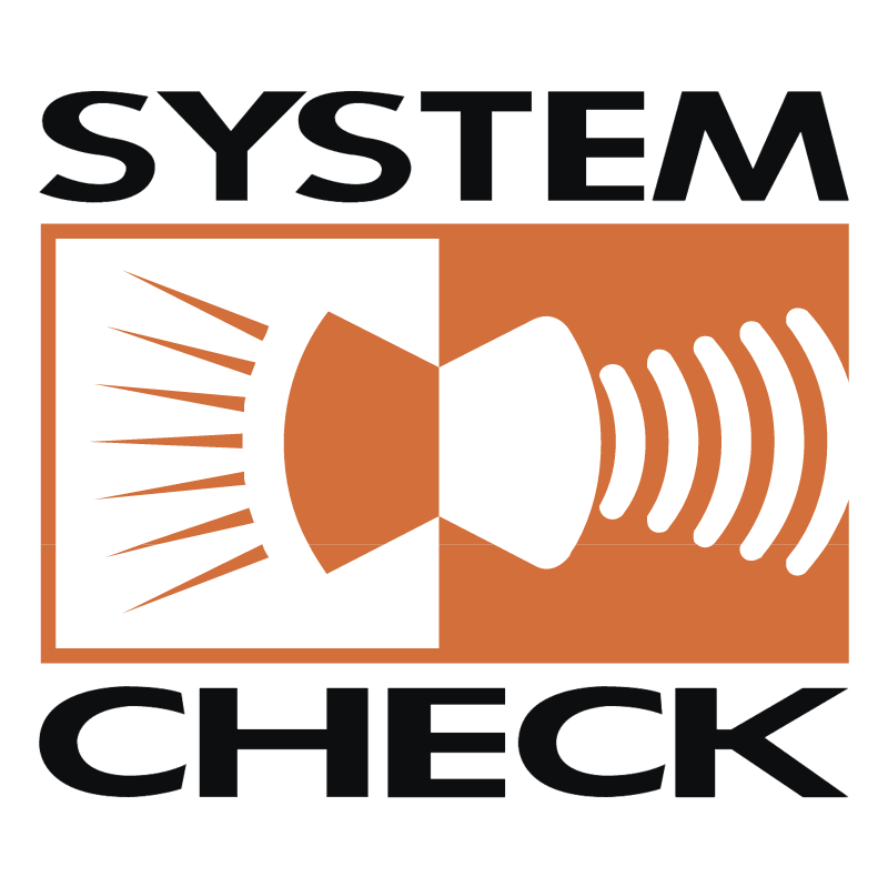 System Check vector logo