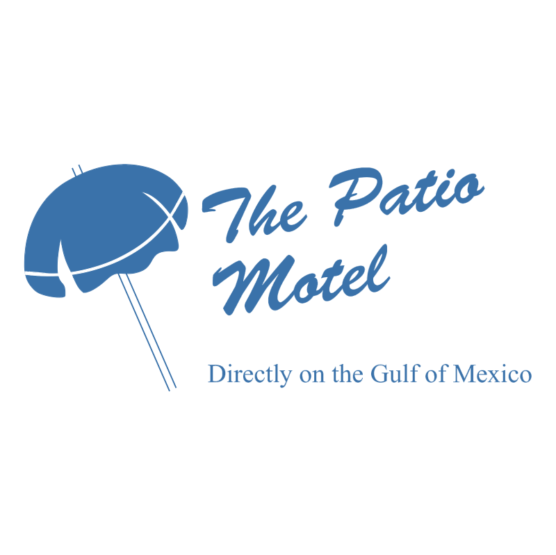 The Patio Motel vector logo