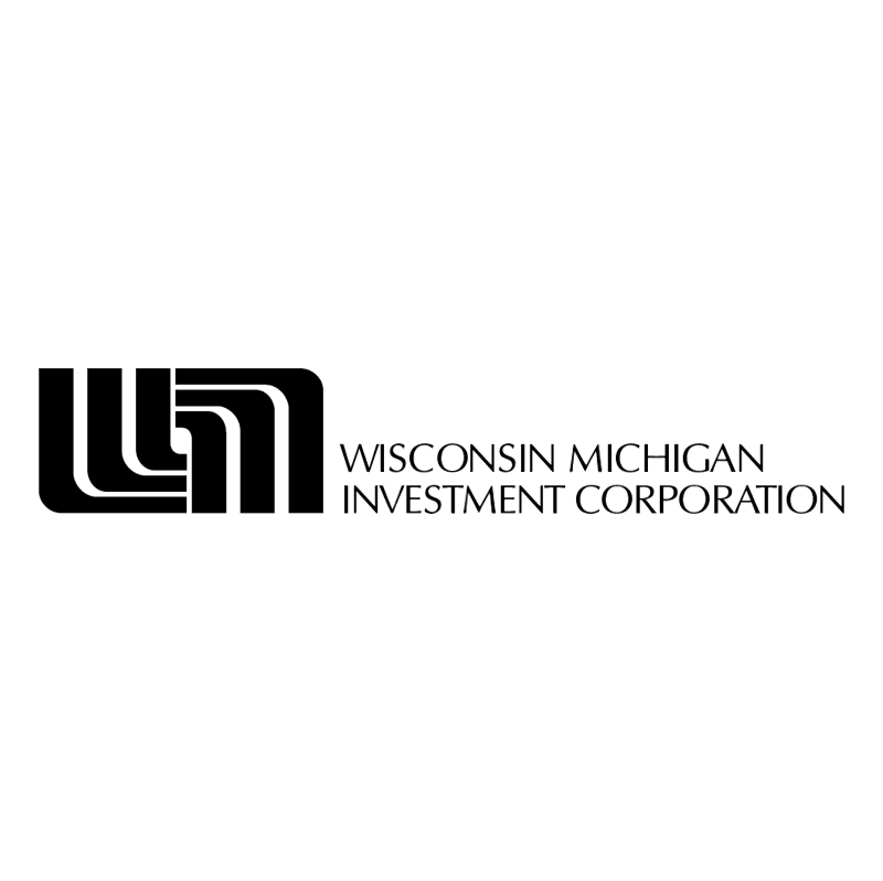 Wisconsin Michigan Investment vector