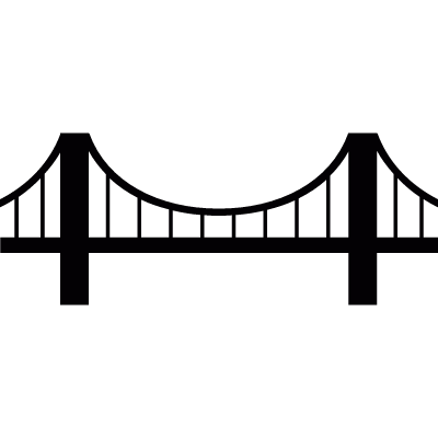 Vincent Thomas Bridge vector logo
