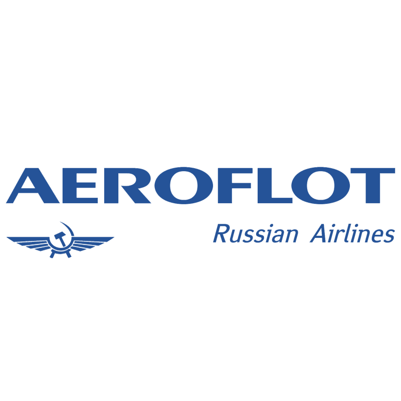 Aeroflot Russian Airlines vector