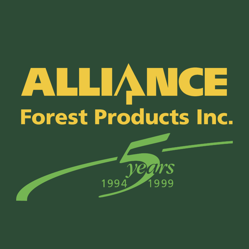 Alliance Forest Products 22081 vector logo
