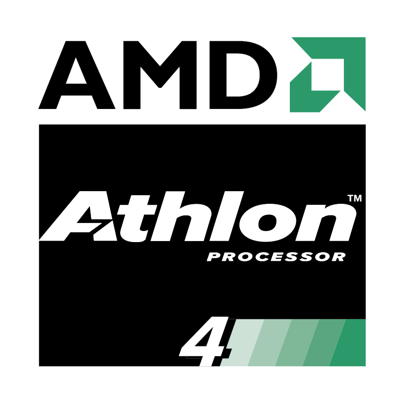 AMD Athlon 4 Processor vector logo