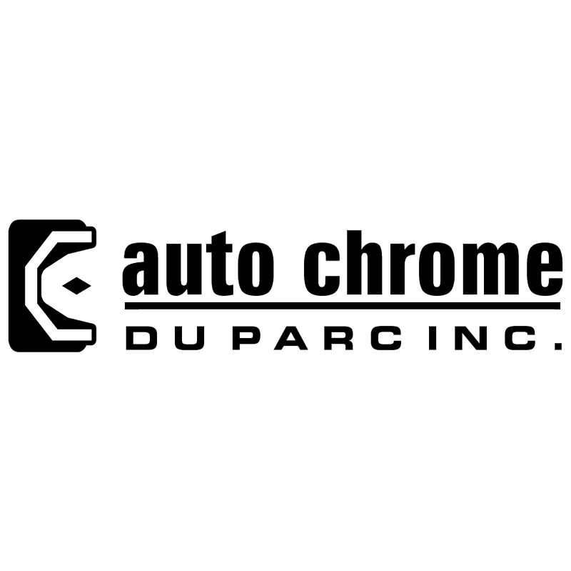 Auto Chrome Du Parc 730 vector