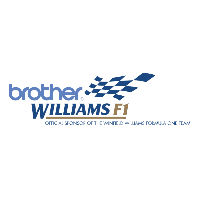 Brother Williams F1 vector logo