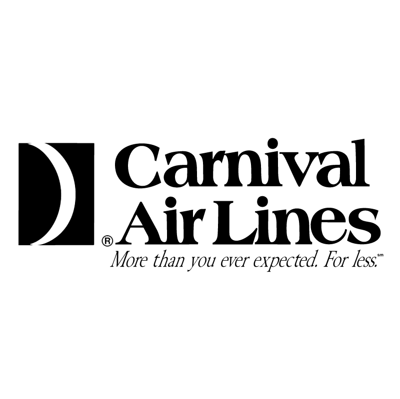Carnival Air Lines vector