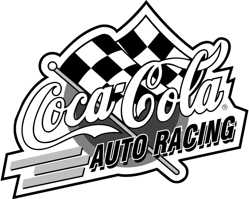 Coca Cola Racing vector