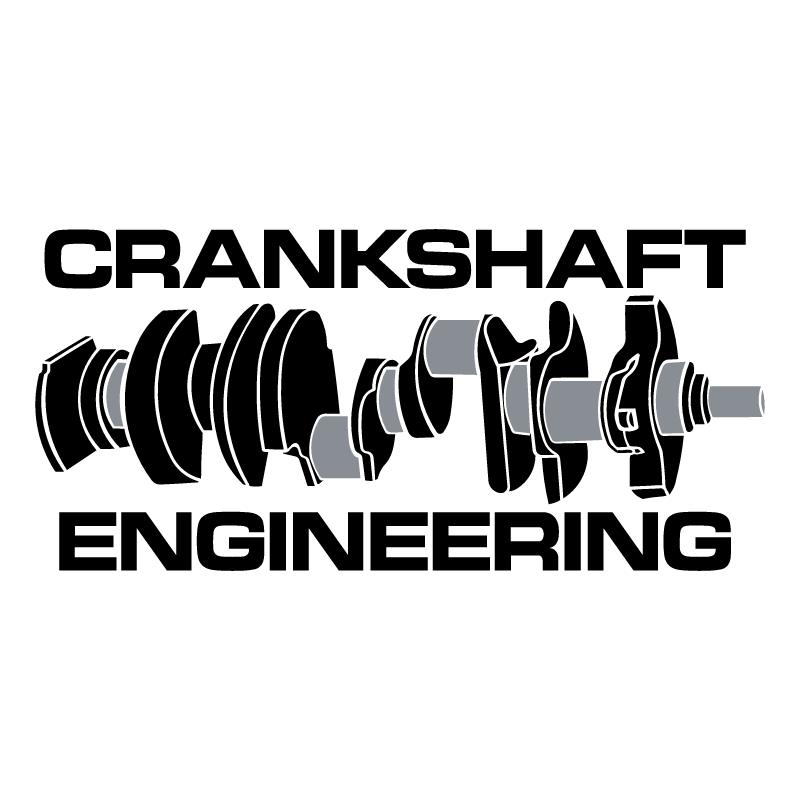 Crankshaft Engineering vector logo