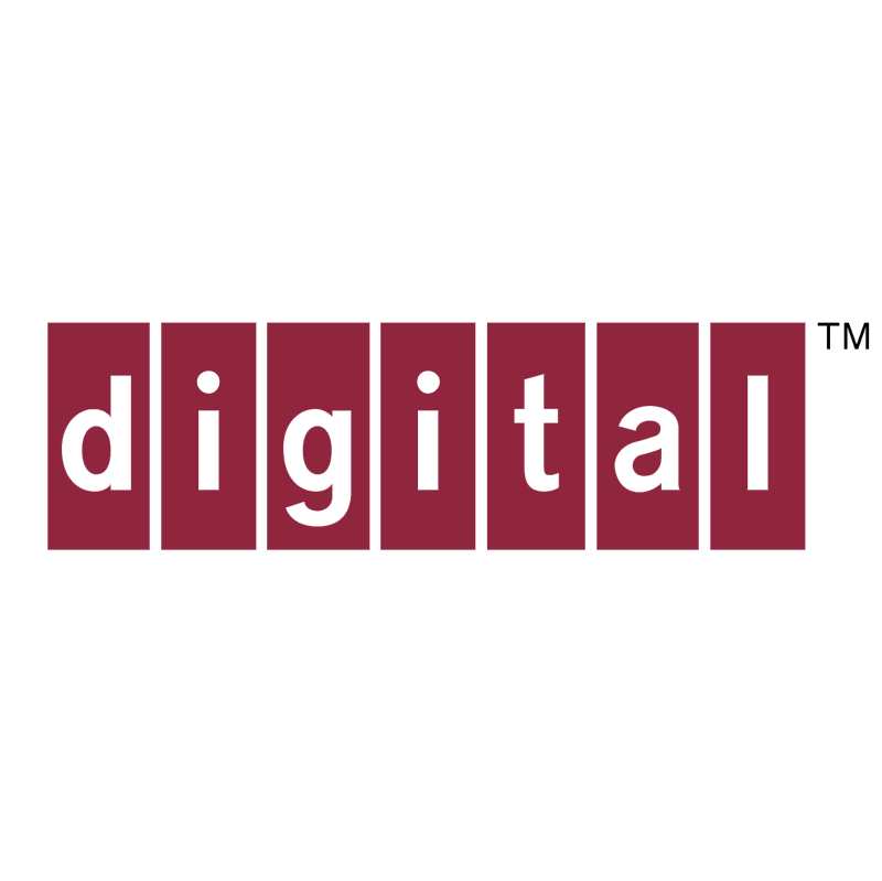 Digital vector logo