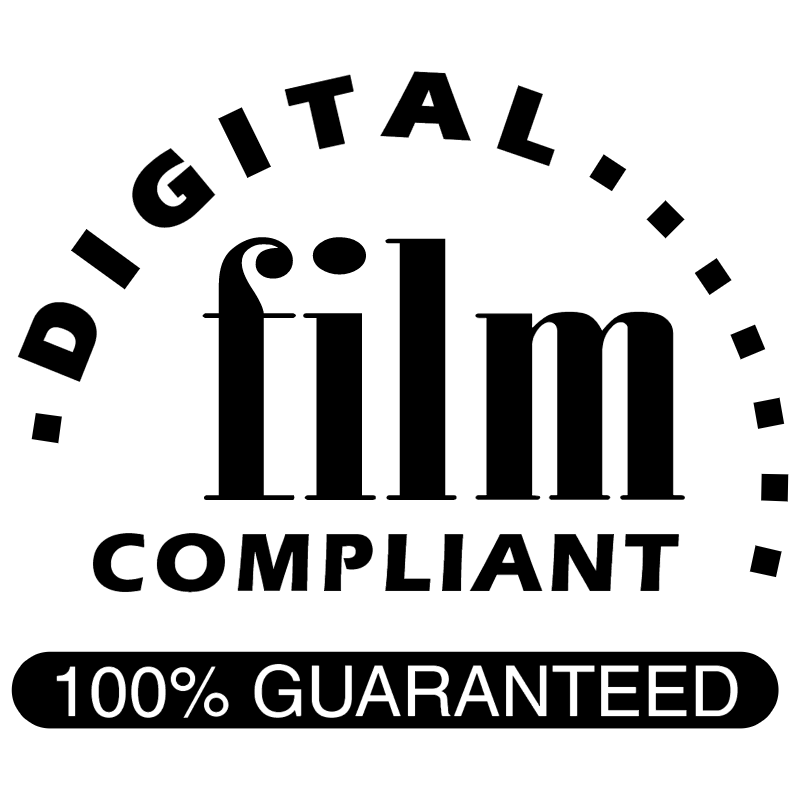 Digital Film Compliant vector