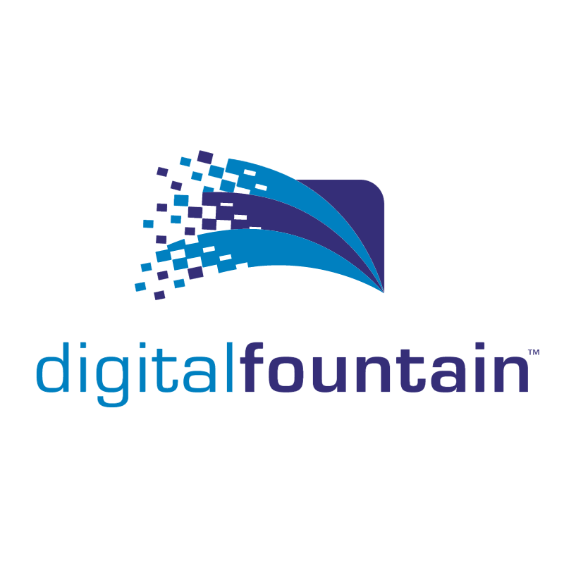 Digital Fountain vector