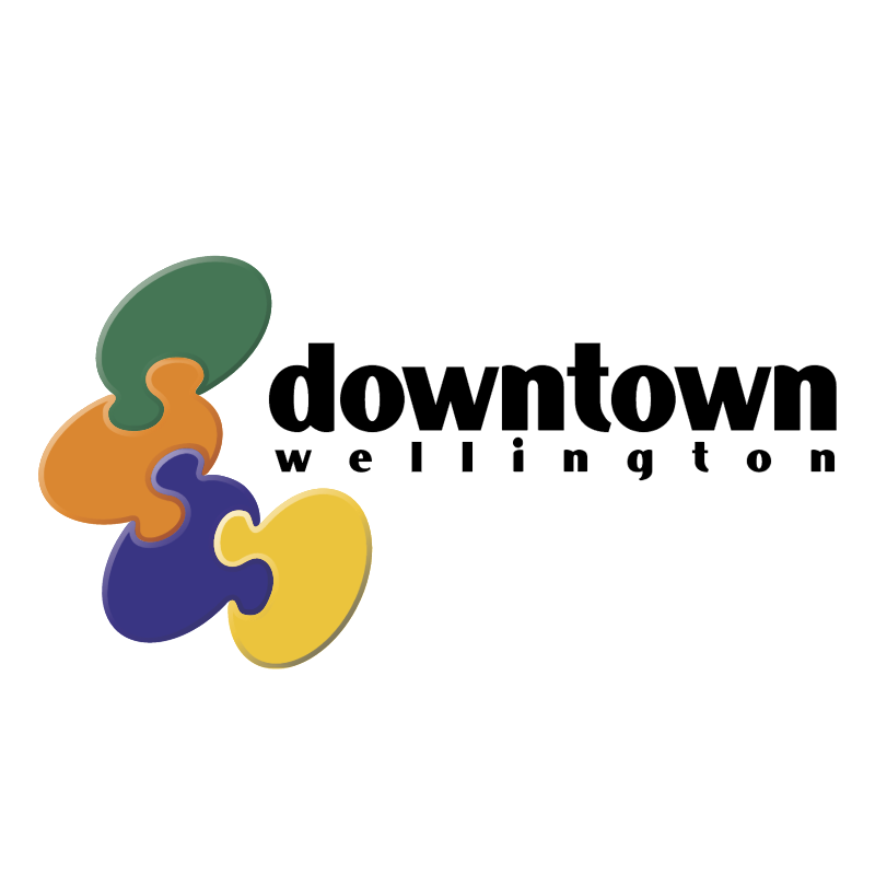Downtown Wellington vector
