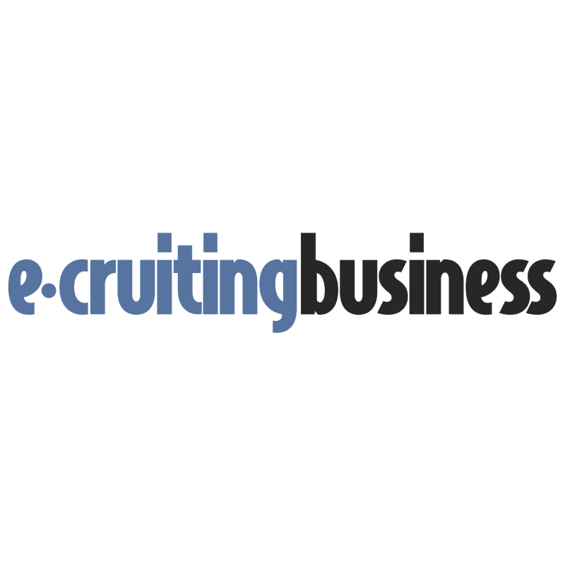 e cruiting business logo
