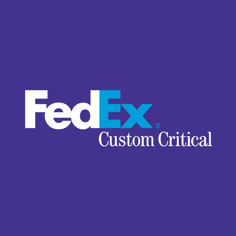 FedEx Custom Critical vector logo