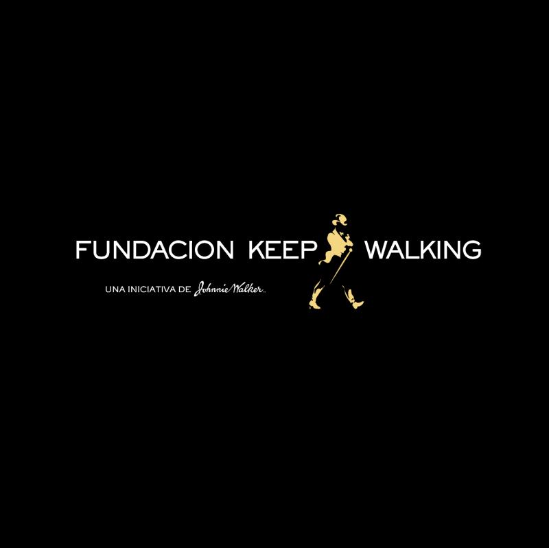 Fundacion Keep Walking vector