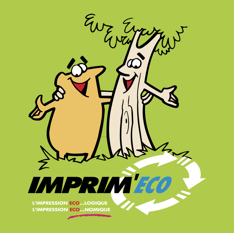 Imprim'Eco vector