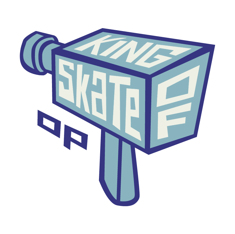 King Of Skate vector logo
