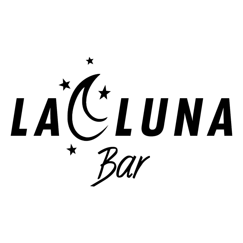 La Luna Bar vector