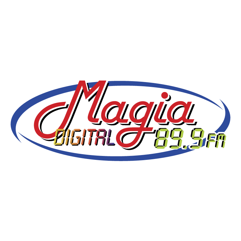 Magia Digital vector logo
