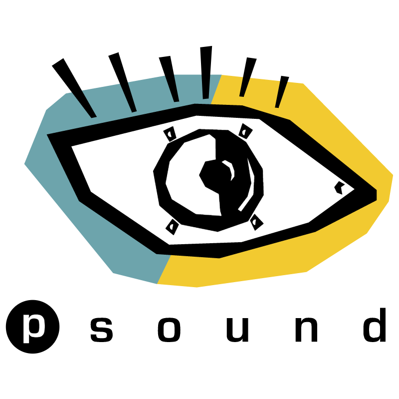 P Sound vector logo