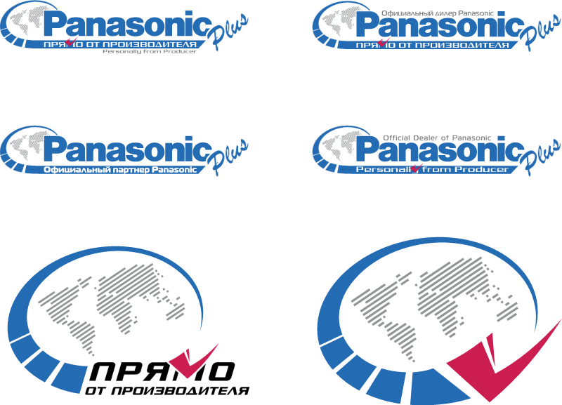 Panasonic Plus vector logo