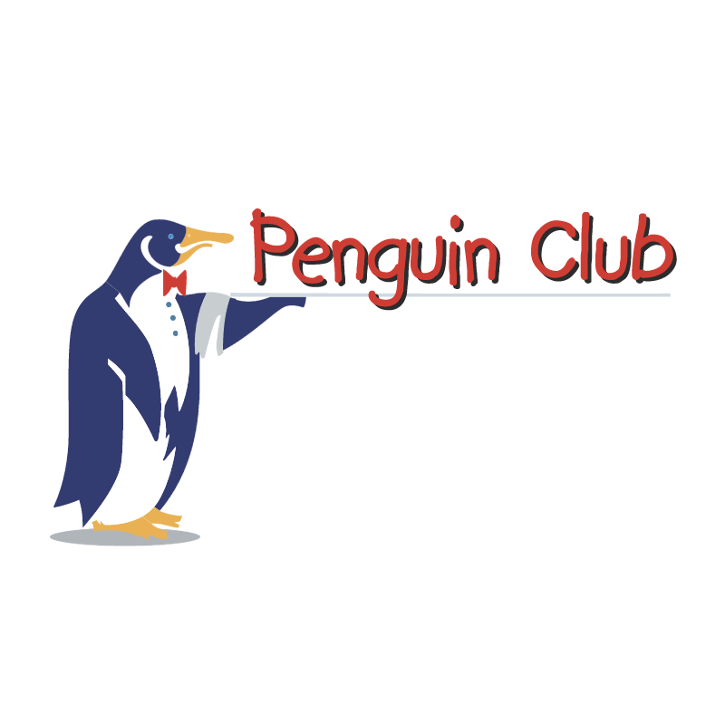 Penguin Club vector