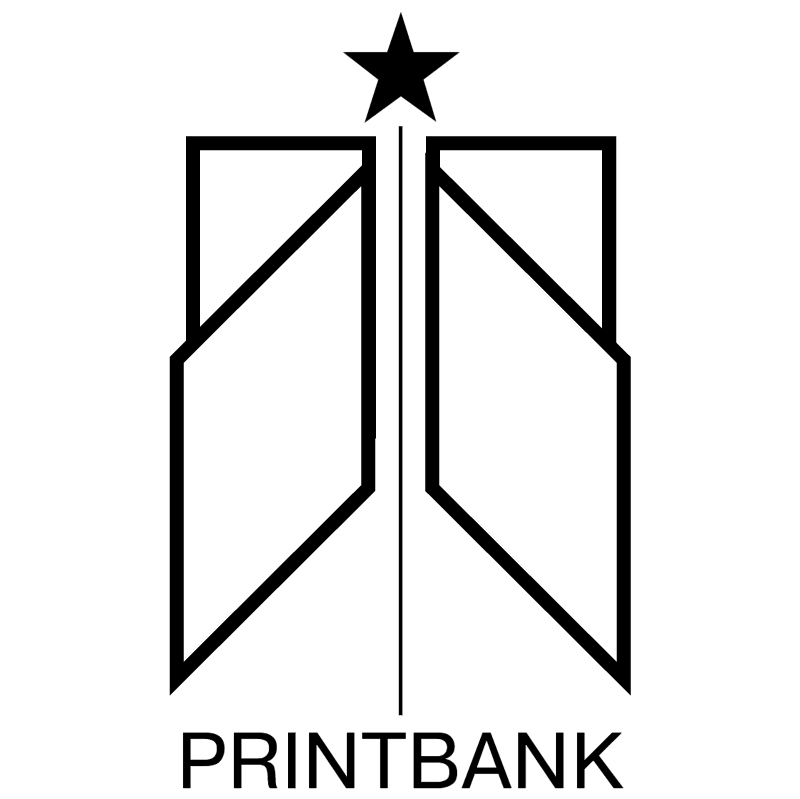 PrintBank vector