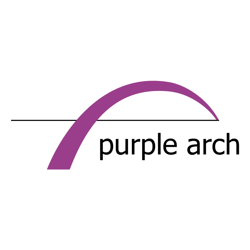 Purple Arch vector logo