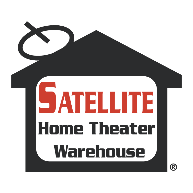 Satellite Home Theater Warehouse vector logo