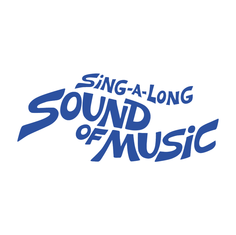 Sing a long a Sound of Music vector logo