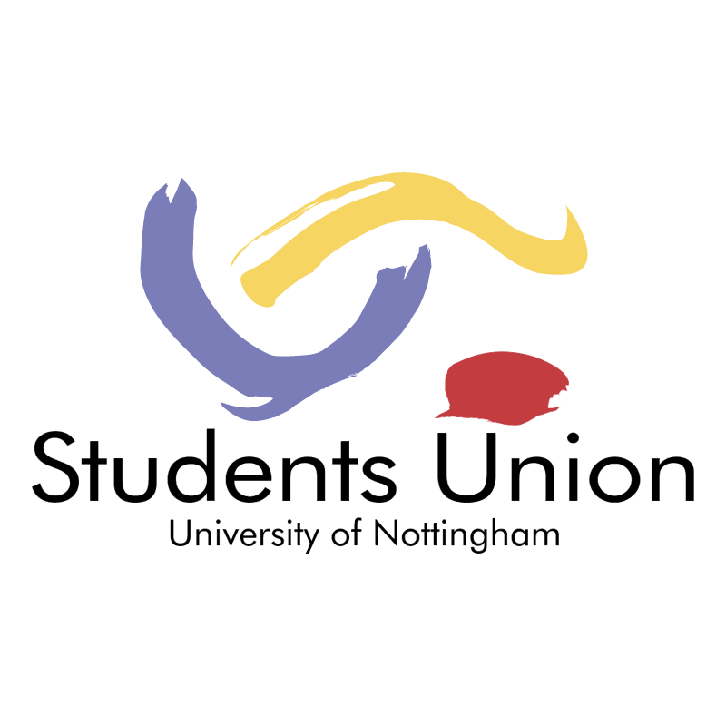 Students Union University of Nottingham vector