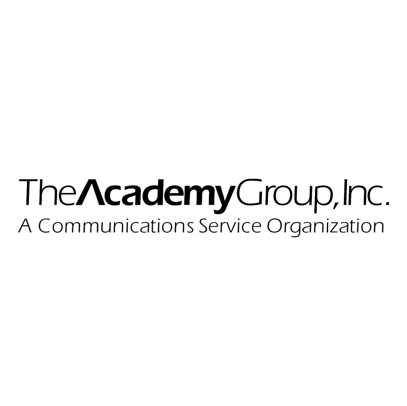 The Academy Group vector logo