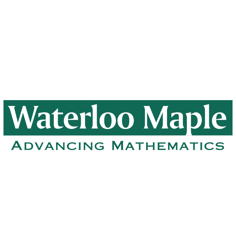 Waterloo Maple vector