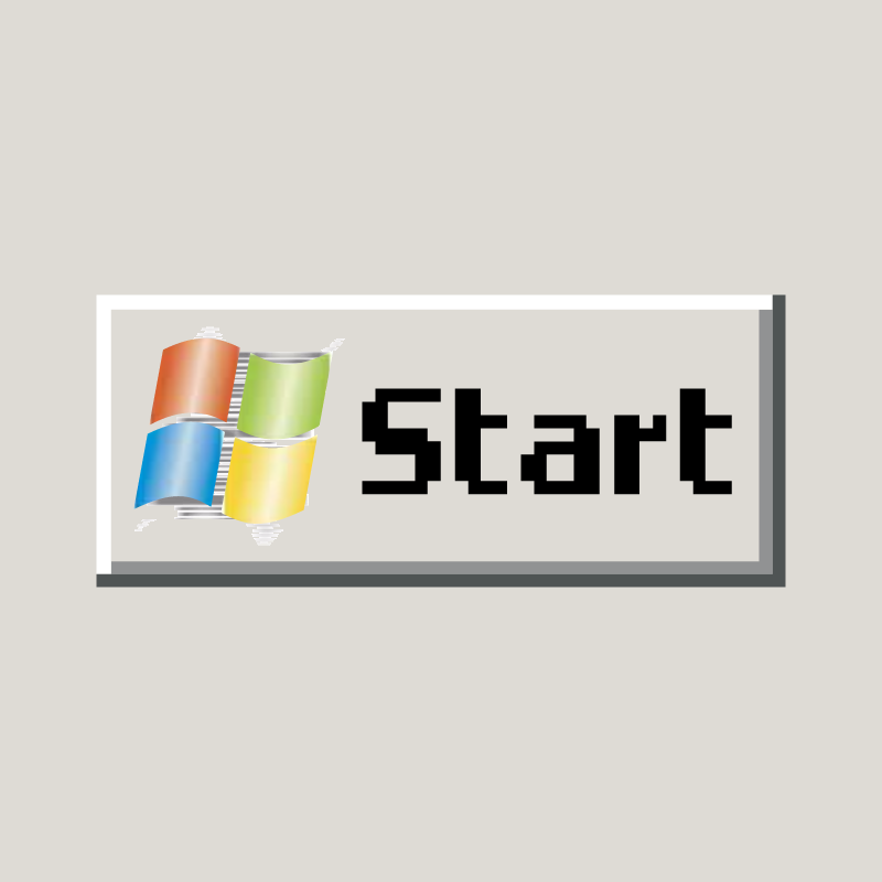 Windows Start Button vector
