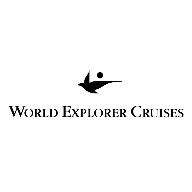 World Explorer Cruises vector logo