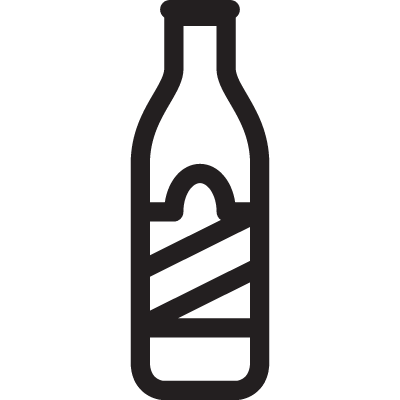 Whisky Brand Bottle vector logo