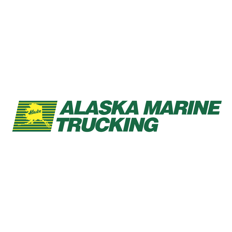 Alaska Marine Trucking vector
