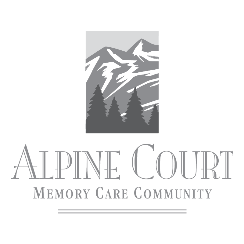 Alpine Court vector logo